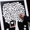 تابلو یادبود قلکی درخت و گنجشک