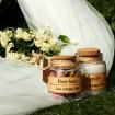 گیفت عروسی شمع و گل سرخ Gift