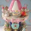 کیک سفارشی 3 طبقه موش ها