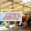 تابلو یادبود قلکی زمینه شیشه ای قلب