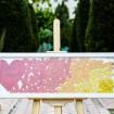 تابلو یادبود قلکی قلب