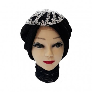 کلاه حجاب تور و گیپور 1037 (توربان)