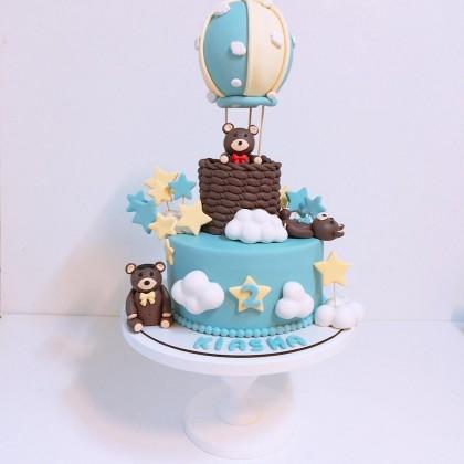 کیک سفارشی بالن