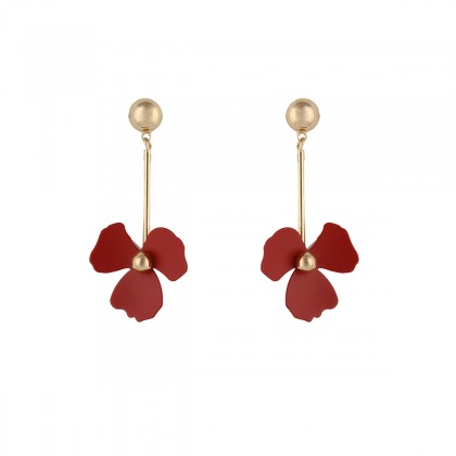 گوشواره زنانه گل تیفانی Tiffany
