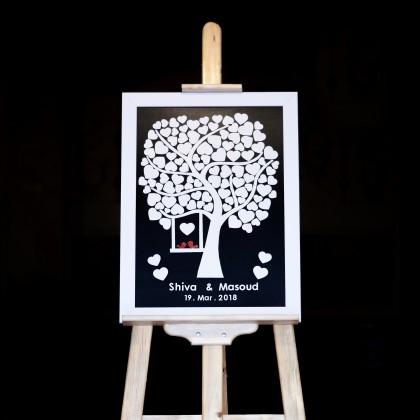 تابلو یادبود درخت و گنجشک