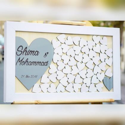 تابلو یادبود قلکی مونس