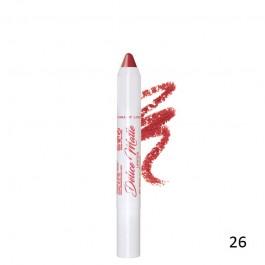 رژلب مدادی دلیسه Delice matte lipstick 26