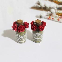 گیفت و هدیه عروسی شیشه ای حنا 30 عددی B1513