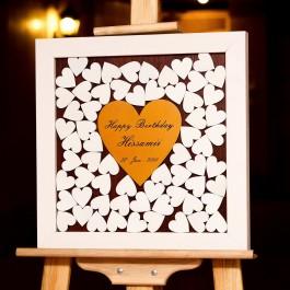 تابلو یادبود قلکی عشق