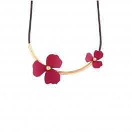 گردنبند زنانه چوکر گل تیفانی Tiffany