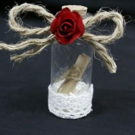 گیفت (هدیه) عروسی بطری نامه و نواردوزی 10 عددی
