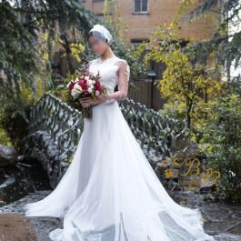 لباس عروس کرپ و تور 2012