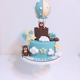 کیک تولد سفارشی بالن