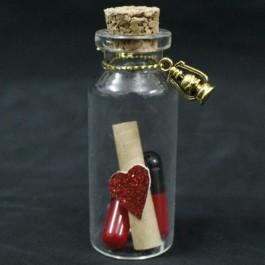 گیفت بطری (هدیه) عروسی نامه 10 عددی