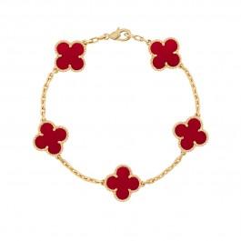دستبند زنانه گل ون کلیف Van Cleef