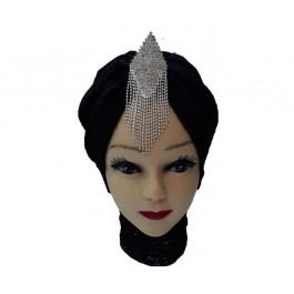 کلاه حجاب تور و گیپور 1036 (توربان)