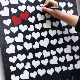 تابلو یادبود قلب دلدار