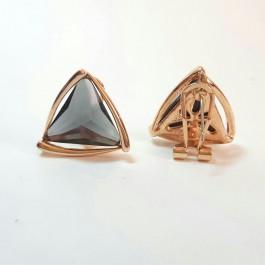 گوشواره میخی استیل مثلثی E109