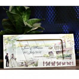 کارت عروسی متحرک W009
