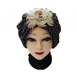 کلاه حجاب توری مجلسی 1035 (توربان)