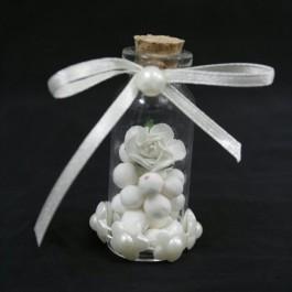 گیفت (هدیه) عروسی بطری توپ و گل 10 عددی