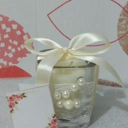 گیفت شات مربعی شمع Gift