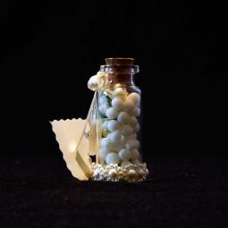گیفت (هدیه) عروسی بطری گل و توپ 10 عددی