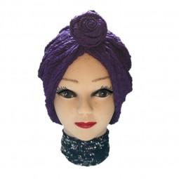 کلاه حجاب کشی طرح دار 1012 (توربان)