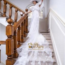 لباس عروس ساتن و ارگانزا و تور 2009