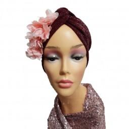 کلاه حجاب لمه کشی شکوفه حریری 2010 (توربان)