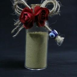 گیفت (هدیه) عروسی بطری حنا 10 عددی