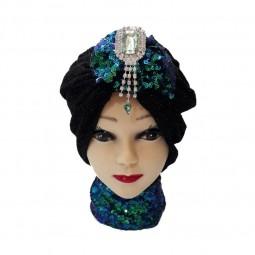کلاه حجاب لمه شنی 1019 (توربان)