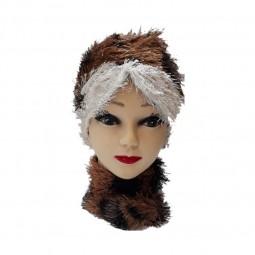 کلاه حجاب اطلسی ریش دار 1018 (توربان)