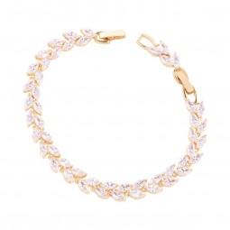 دستبند زنانه نگین دار B1327