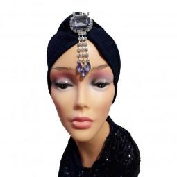 کلاه حجاب لمه کشی مدالیون آویز دار 2007 (توربان)