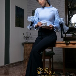 لباس مجلسی زنانه کرپ 3007
