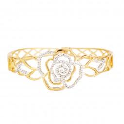 دستبند زنانه گل رز B1188