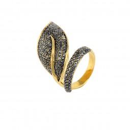 انگشتر زنانه برگ R1082
