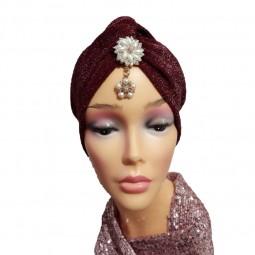 کلاه حجاب لمه کشی تگپیک آویزدار 2009 (توربان)