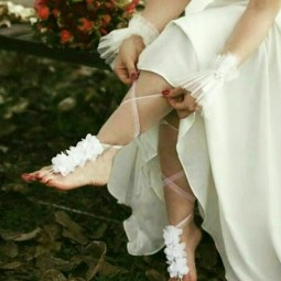 پاپیچ گل ساده عروس ترانه